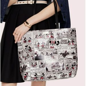 Kate Spade × minnie mouse comic tote